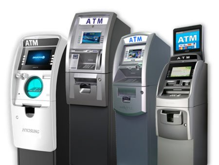 ATMs from top manufacturers